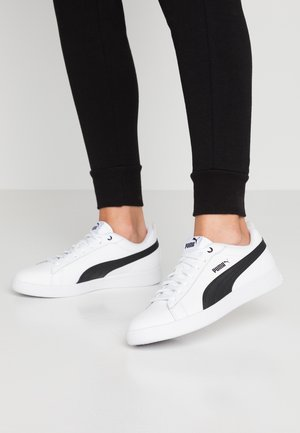 SMASH - Sneakers laag - white/black