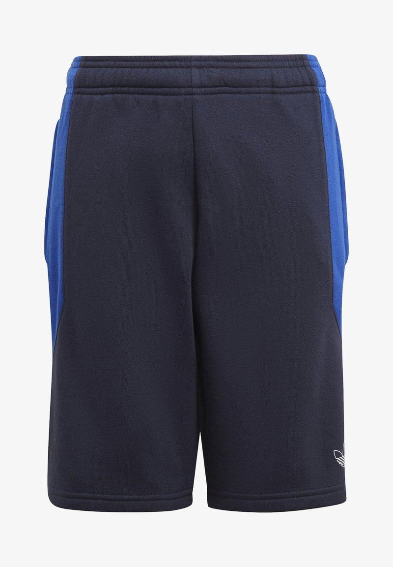 adidas Originals - COLOURBLOCK UNISEX - Shorts - legend ink/team royal blue