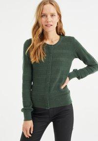 WE Fashion - Cardigan - army green - 3