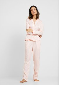 Hunkemöller - JACKET PAISLEY - Nattøj trøjer - cloud pink - 1