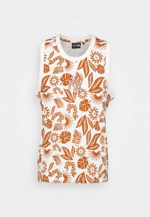 NEW YORK YANKEES MLB FLORAL TANK - Club wear - offwhite