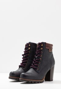 TOM TAILOR - Ankle boots - navy - 4