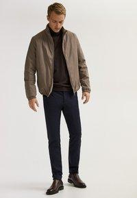 Massimo Dutti - Bomber Jacket - beige - 1