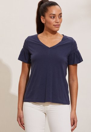 GLORIA - Print T-shirt - dark blue