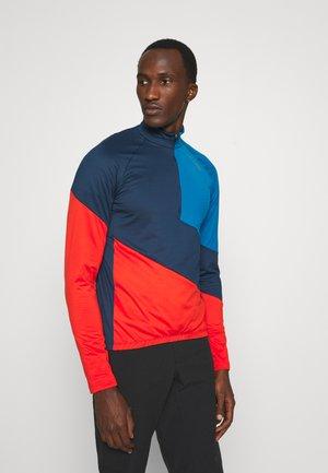 BIKE TRACE - Long sleeved top - blue