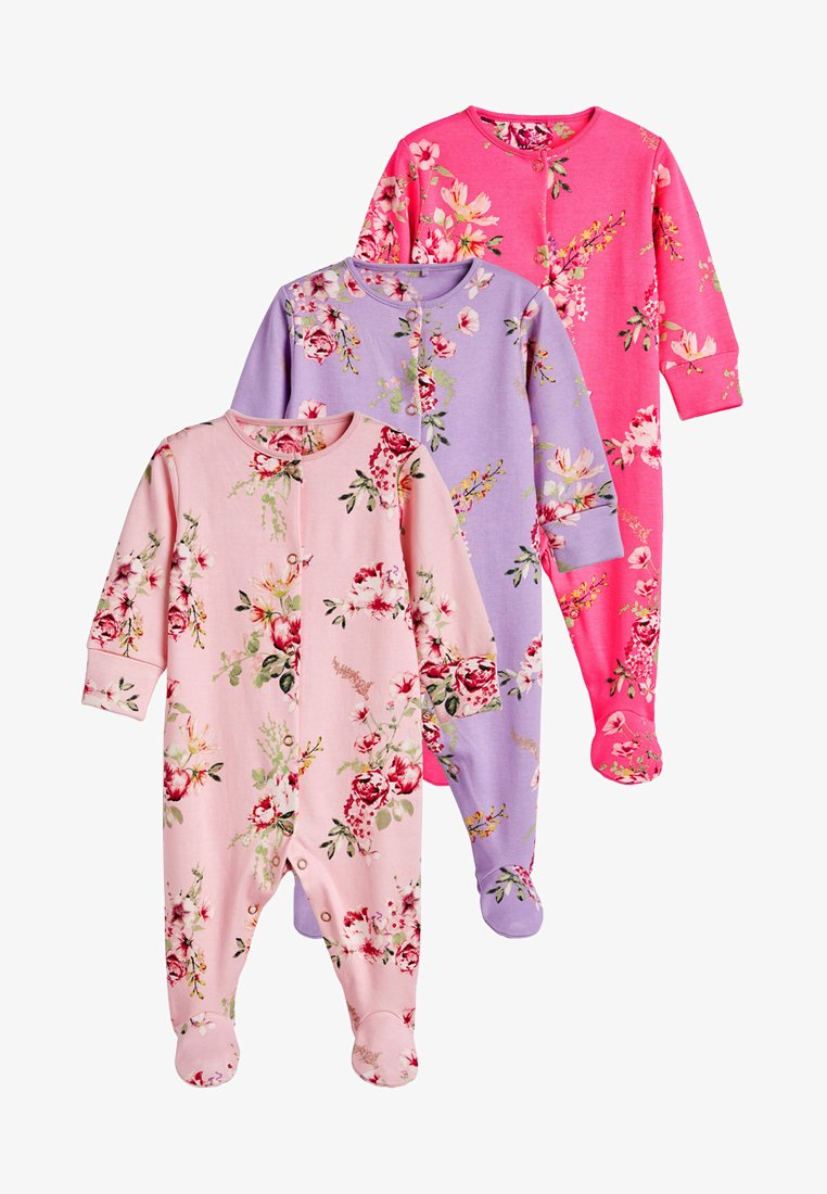 Next - 3PACK - Sleep suit - pink