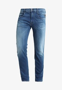 Replay - HYPERFLEX ANBASS - Slim fit jeans - dark blue denim - 4