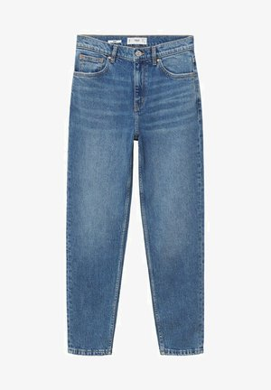 MOM FIT - Slim fit jeans - medium blue
