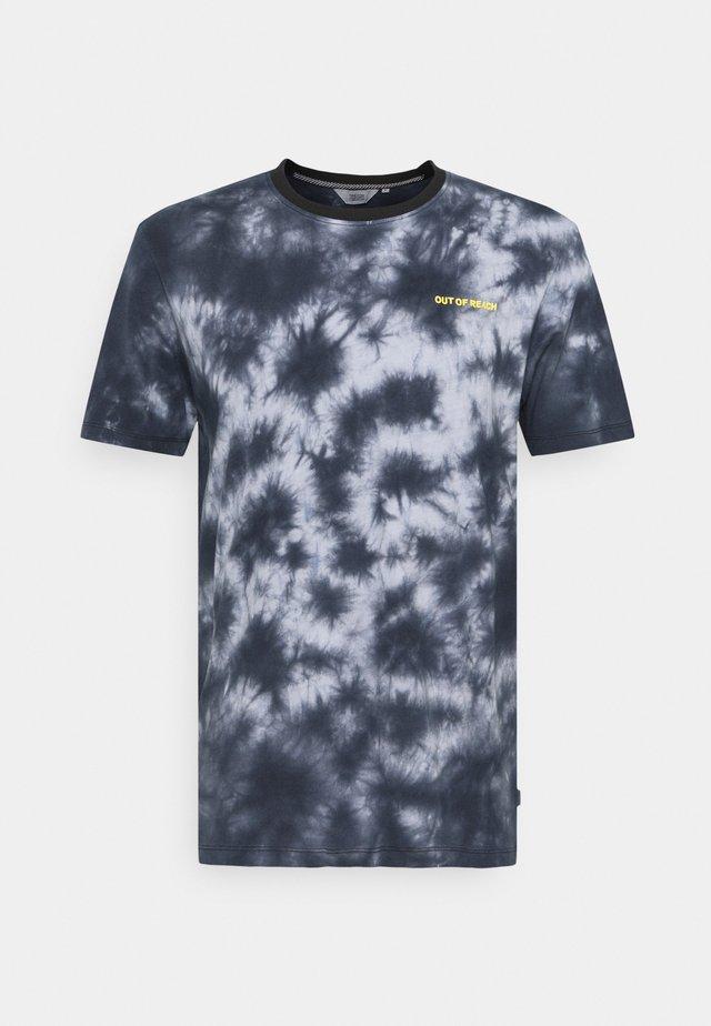 SDPIER - T-shirt con stampa - black