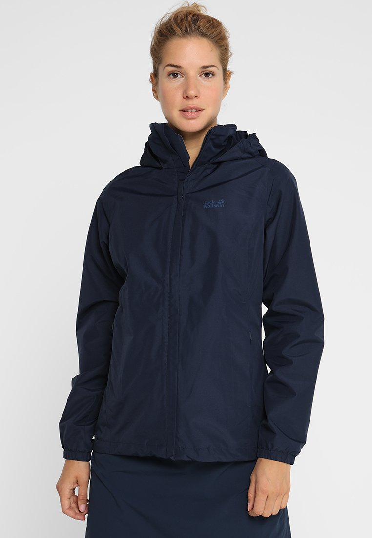 Jack Wolfskin - STORMY POINT JACKET  - Outdoorjas - midnight blue