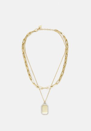 TAG - Necklace - yellow gold-coloured