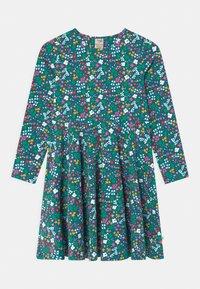 Frugi - SOFIA SKATER WILD FLORAL - Jersey dress - blue - 0