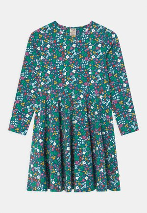 SOFIA SKATER WILD FLORAL - Jersey dress - blue