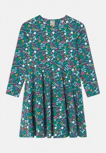 SOFIA SKATER WILD FLORAL - Jersey dress - blue