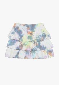 Molo - BELL - Áčková sukně - white/multi-coloured - 0