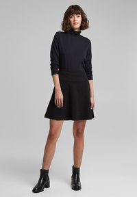 edc by Esprit - A-line skirt - black - 1