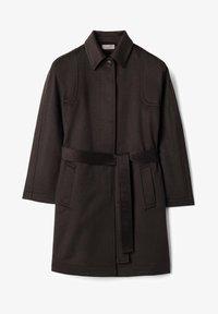 Falconeri - MIT SICHTBAREN STEPPNÄHTEN - Classic coat - braun / moka - 5