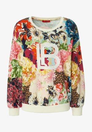 Sweatshirt - hellblau/multicolor