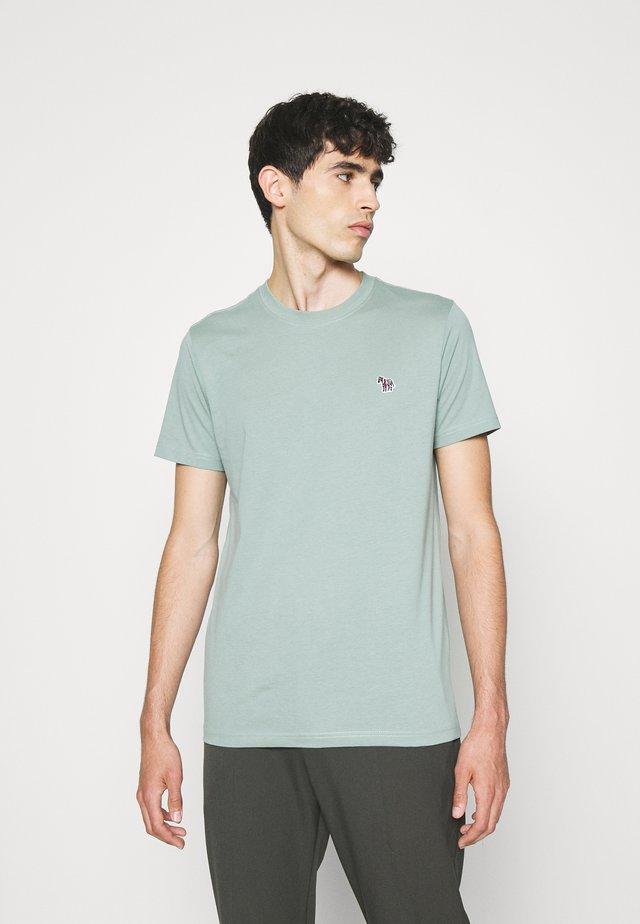 ZEBRA BADGE UNISEX - T-shirt basic - light green