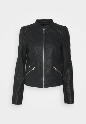 VMKHLOE FAVO  - Faux leather jacket - black