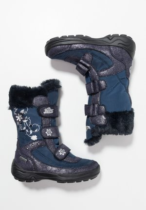 MARY - Winter boots - marine/silber