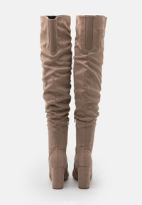 Even&Odd Wide Fit - High heeled boots - taupe - 3