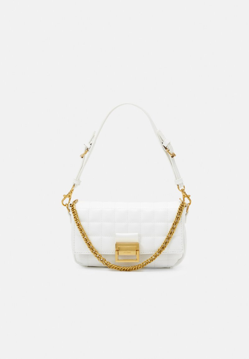 ALDO - OLEOSA - Handbag - off white/gold-coloured
