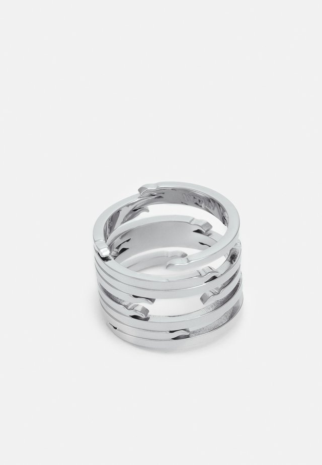 ECHO UNISEX - Bague - silver-coloured