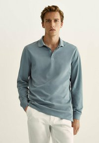 Massimo Dutti - Polo shirt - dark grey - 0