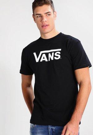 CLASSIC - T-shirt imprimé - black/white