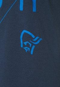 Norrøna - /29 SLANT LOGO - T-shirt imprimé - indigo night - 2