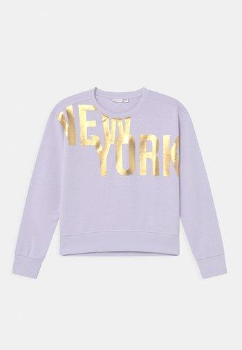 NKFDISSEL - Sweatshirt - lilac