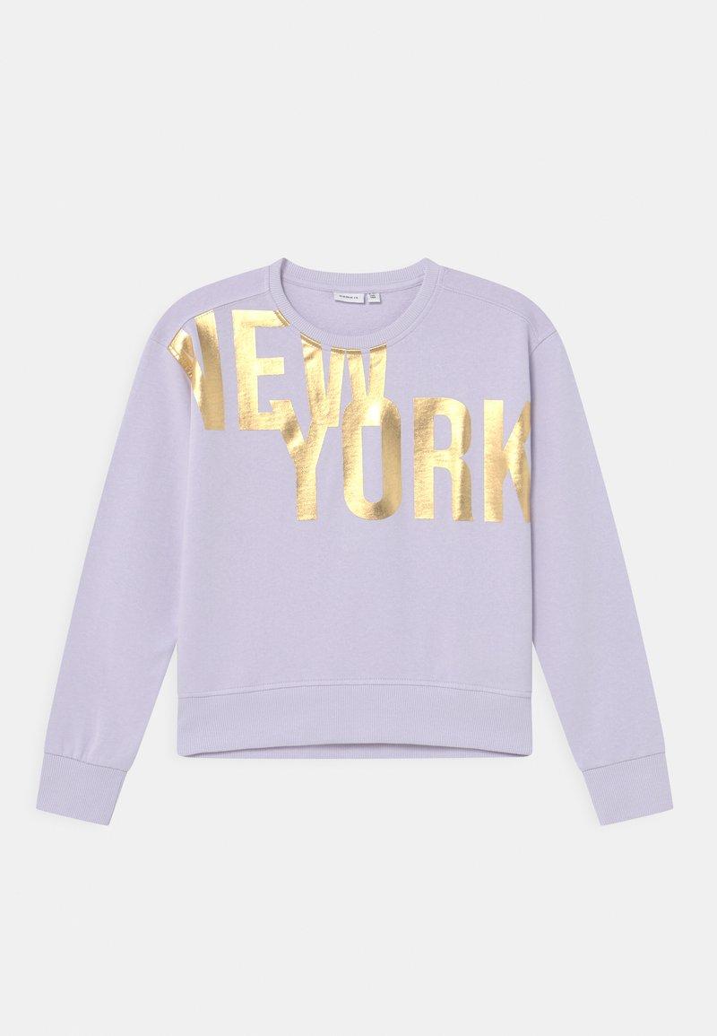Name it - NKFDISSEL - Sweatshirt - lilac
