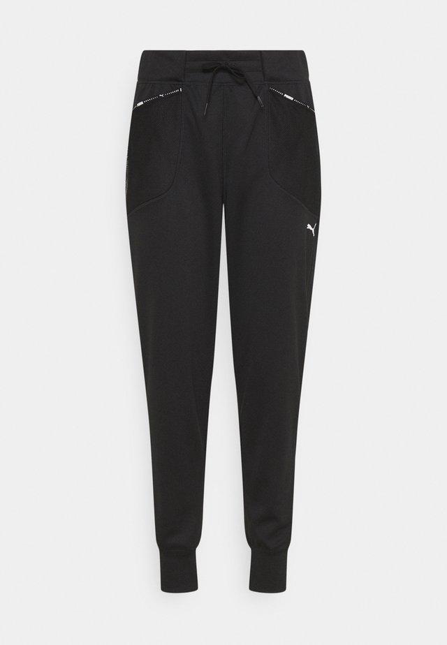 TRAIN LOGO  - Pantaloni sportivi - puma black