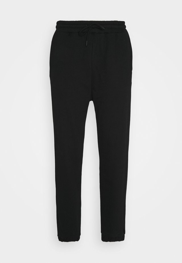 TAPERED TRACK - Pantalon de survêtement - black