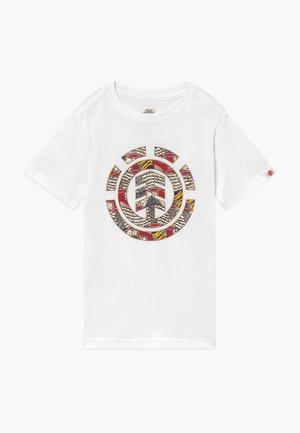ORIGINS ICON BOY - Print T-shirt - optic white