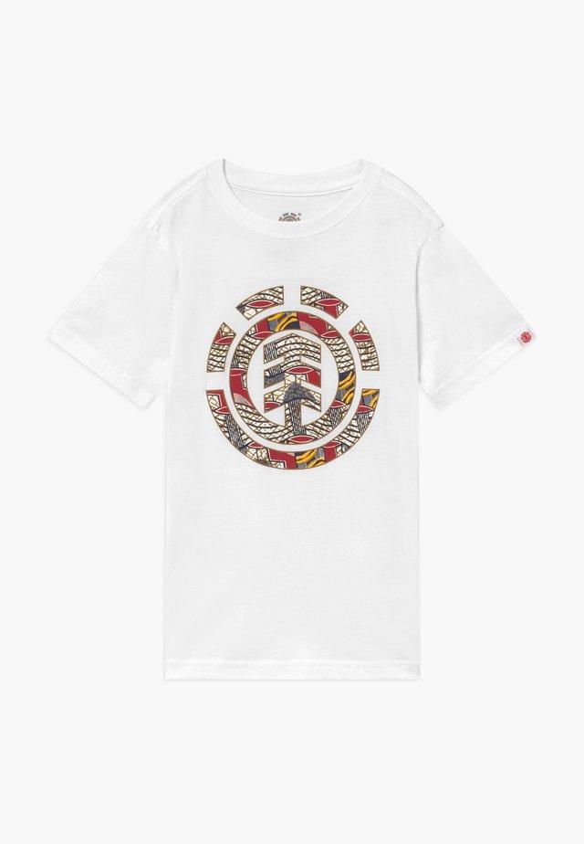 ORIGINS ICON BOY - T-shirt con stampa - optic white