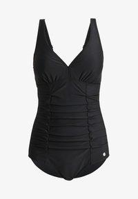 LASCANA - SHAPING SWIMSUIT - Swimsuit - black - 4