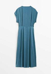 Massimo Dutti - Day dress - blue - 6