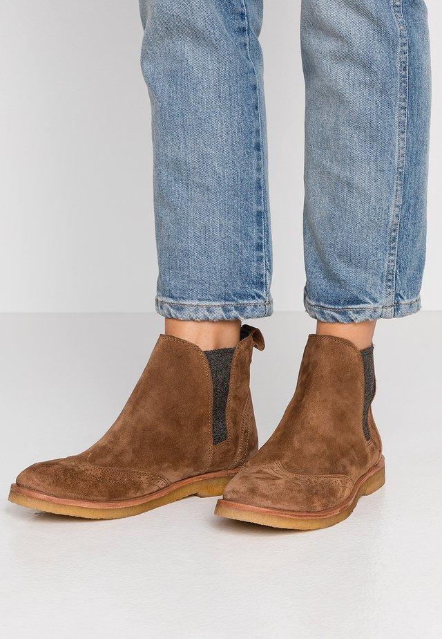 REGGIO - Ankle boots - cognac