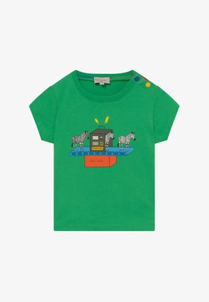 AZOU - Print T-shirt - kelly green