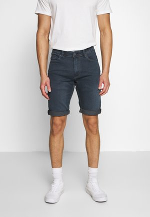 SCOTTY  - Denim shorts - blue black