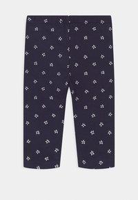 Blue Seven - SMALL GIRLS STARS 3 PACK - Leggings - white/navy - 1