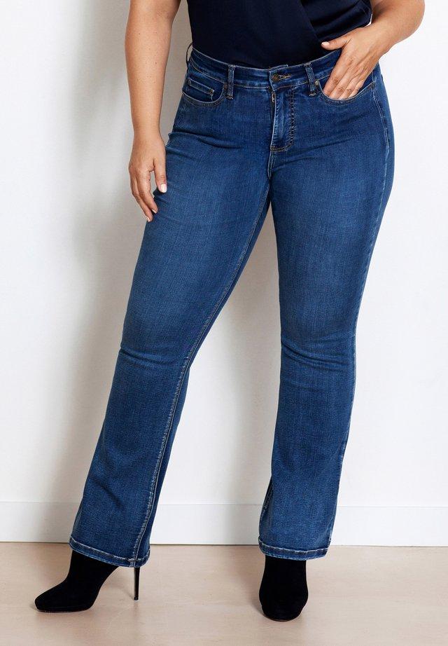 Straight leg jeans - eagle blue