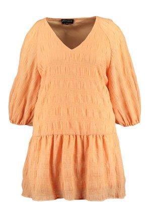 Day dress - licht oranje