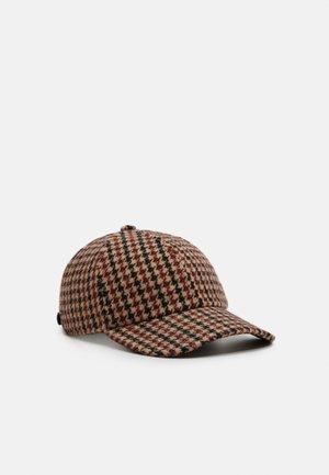 CAP HOUNDSTOOTH UNISEX - Cap - beige