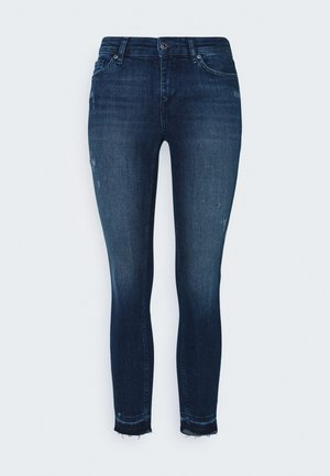 ONLCARMEN DETSTROY - Jeans Skinny Fit - dark blue denim