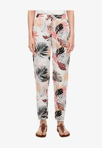s.Oliver - Trousers - off-white aop - 5