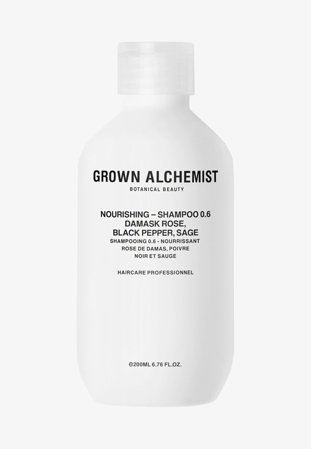 NOURISHING-SHAMPOO 0.6 DAMASK ROSE, BLACK PEPPER, SAGE - Shampoo - -