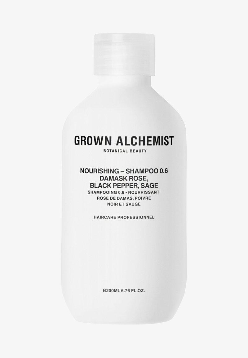 Grown Alchemist - NOURISHING-SHAMPOO 0.6 DAMASK ROSE, BLACK PEPPER, SAGE - Shampoing - -
